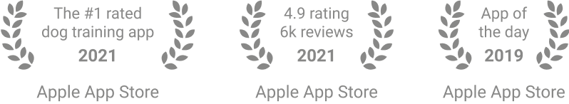 GoodPup is the top-rated dog training app in the App Store.